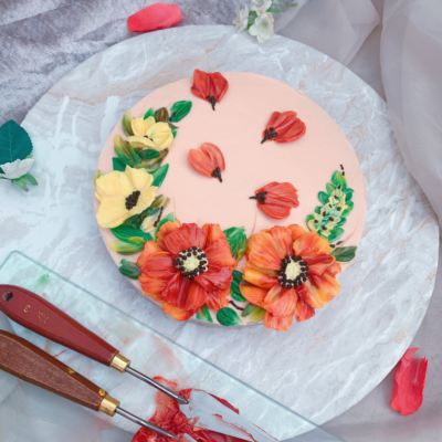 How to cover a cake board pretty – Tutorial