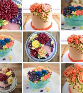 Floral Cakes (3 projects)