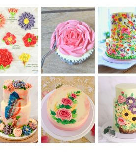 Buttercream Palette Knife Painting (5 projects)