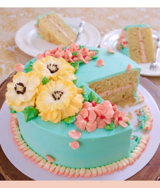 How to cut your cake decorating time in half!