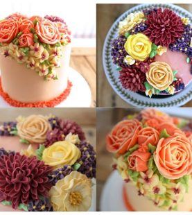 Floral Cakes (2 projects)